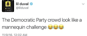 Lil Duval throws shade at Democrats in the US